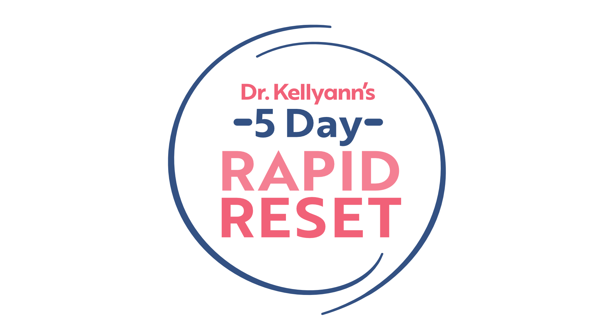 5 Day Rapid Reset with Dr. Kellyann