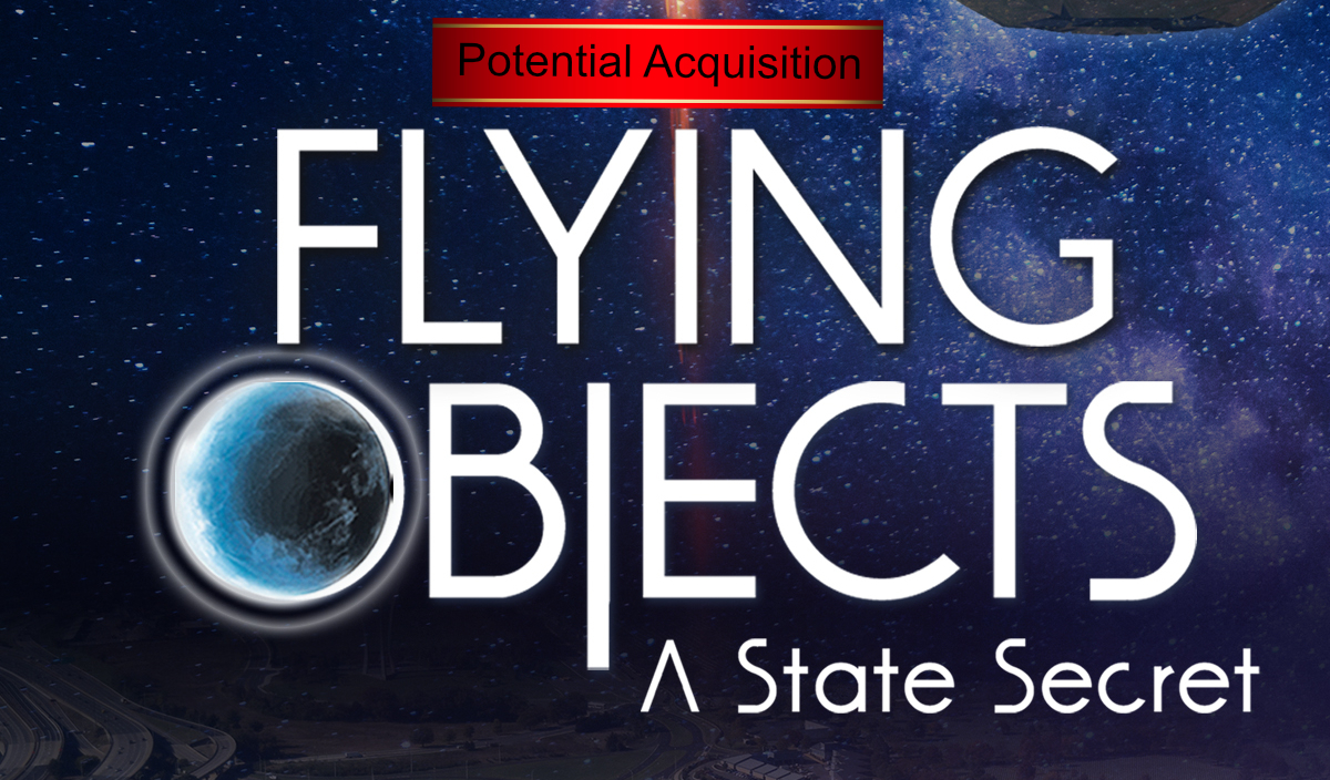 Flying Objects – A State Secret PENDING SALE